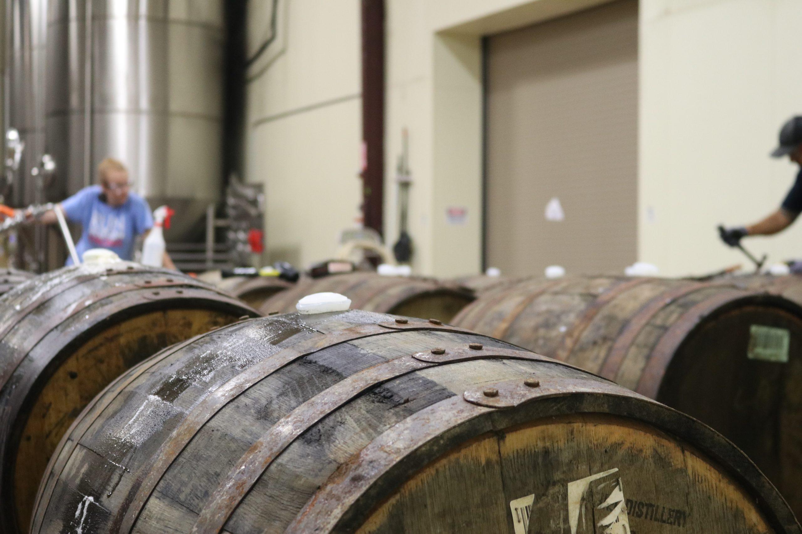brown-wooden-barrel-inline-inside-room-1267311